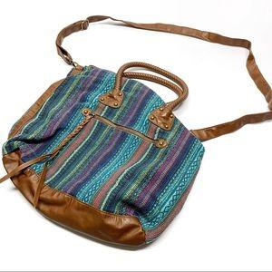 ❤️ T-Shirt & Jeans Tapestry Crossbody Bag